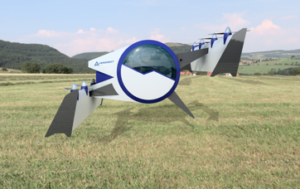 『空飛ぶゴンドラ』Next MOBILITY®の着陸形態
